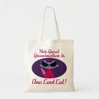 Tote Bag Grand chat de cool de grand-maman