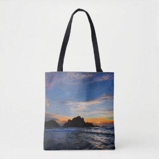 Tote Bag Grand coucher du soleil de Sur
