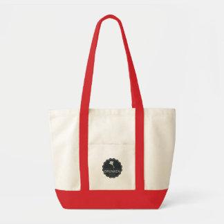 Tote Bag Grand logo fourre-tout d'ESDK avec la poche