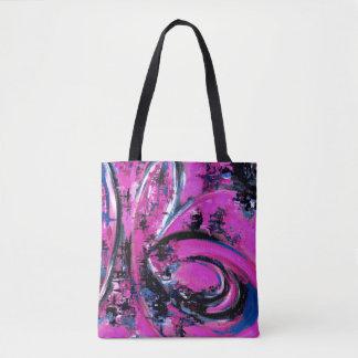 Tote Bag Grand rose de vague