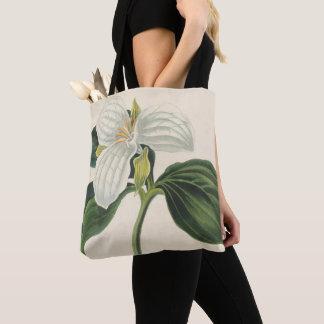 Tote Bag Grand Trillium fleuri