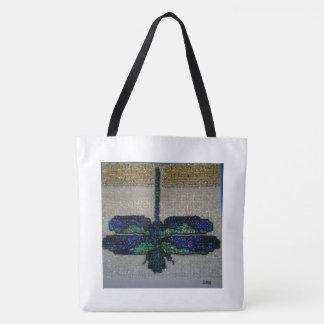 Tote Bag Grande libellule Fourre-tout
