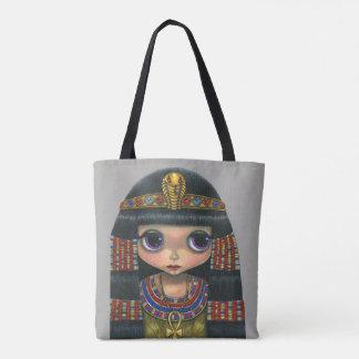 Tote Bag Grande poupée adorable de fille de la Reine de