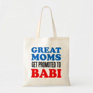 Tote Bag Grandes mamans promues à la grand-mère de Babi