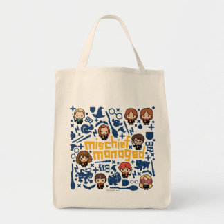 """Tote Bag Graphique contrôlé """"par préjudice"""" de bande"""