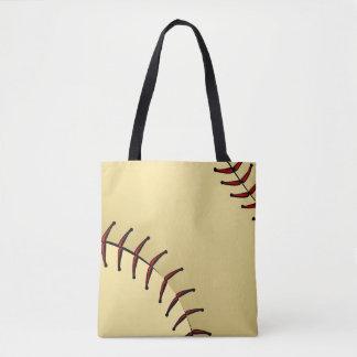 Tote Bag Graphique de plan rapproché du base-ball