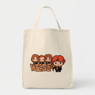 Tote Bag Graphique de Weasley Siblilings de bande dessinée
