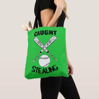 Tote Bag Graphique drôle de base-ball de citation d'humour