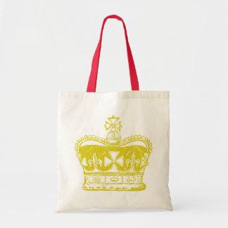 Tote Bag Graphique royal de couronne