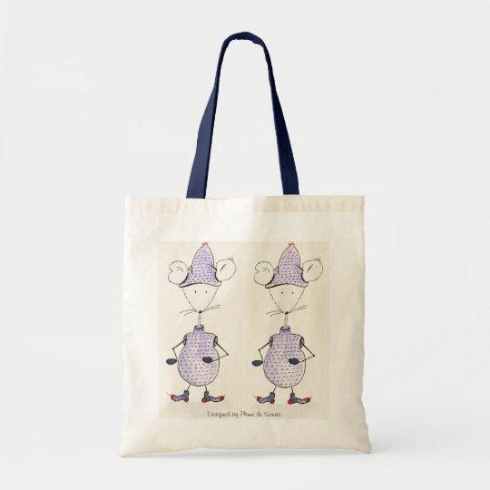 Tote Bag Grelotte, Grelotte, Designed by Plume de Souris