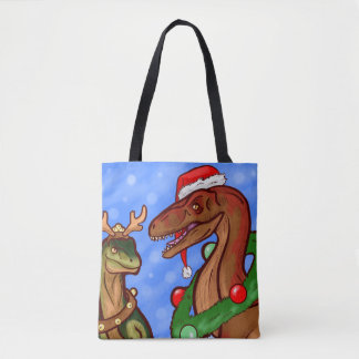 Tote Bag Griffes de Père Noël