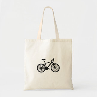 Tote Bag Griffonnage tiré par la main simple de bicyclette