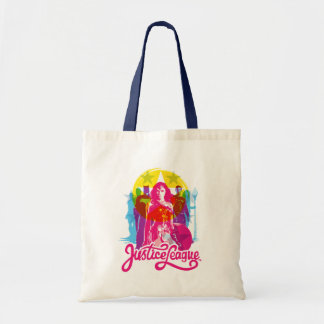 Tote Bag Groupe de la ligue de justice rétro | et art de