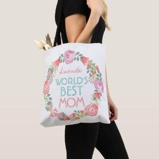 Tote Bag Guirlande florale faite sur commande mignonne