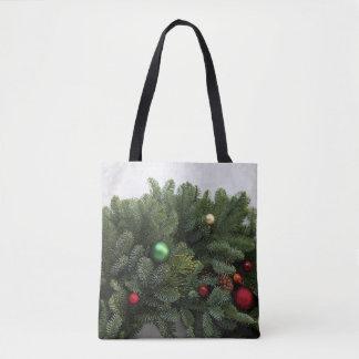 Tote Bag Guirlande luxuriante de Noël
