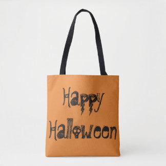 Tote Bag Halloween heureux fourre-tout bilatéral avec le