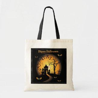 Tote Bag Halloween - yeux de hantise vous observant