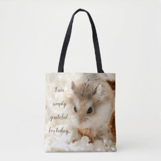 Tote Bag Hammyville - hamster reconnaissant