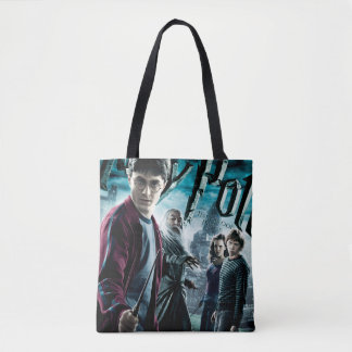 Tote Bag Harry Potter avec Dumbledore Ron et Hermione 1
