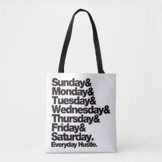 Tote Bag Hâte quotidienne de SMTWTFS