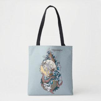 Tote Bag hippocampe mythologique