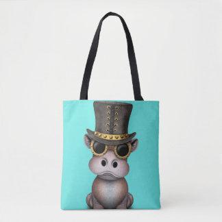 Tote Bag Hippopotame de bébé de Steampunk