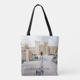 Tote Bag Hiver au château de Windsor par Farida Greenfield