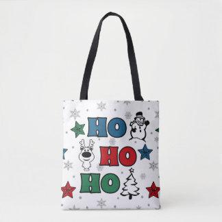 Tote Bag Ho-Ho-Ho conception de Noël