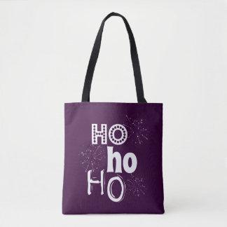 Tote Bag Ho Ho Ho Noël