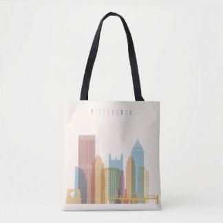 Tote Bag Horizon de ville de Pittsburgh, Pennsylvanie |