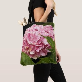 Tote Bag Hortensia rose floral