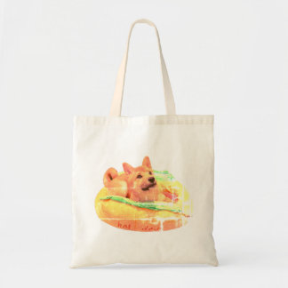 Tote Bag Hot-dog Shiba Fourre-tout