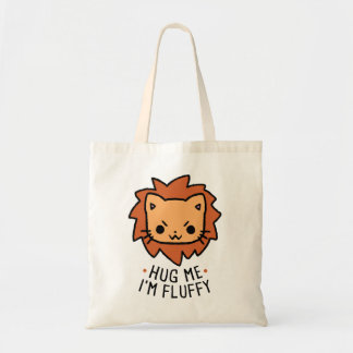 Tote Bag Hug Me I'm Fluffy