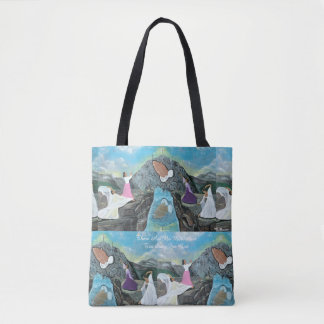 Tote Bag Il n'y a aucune montagne trop raide pour Dieu