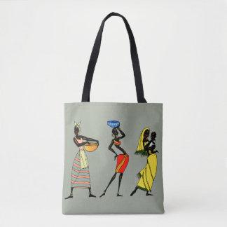 Tote Bag Illustration africaine de femmes