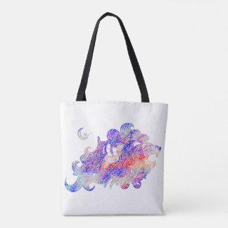 Tote Bag Illustration complexe d'otarie d'hurlement