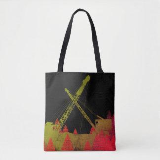Tote Bag Imaginaire fonctionnant coloré d'ingénieur de