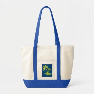 Tote Bag Impulsion Fourre-tout avec des palmiers