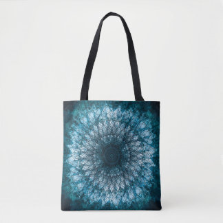 Tote Bag Indigo Blue Mandala
