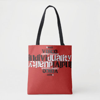 Tote Bag Individualité de voix d'identité