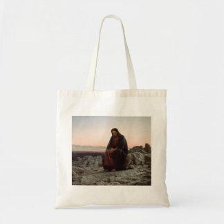 Tote Bag Ivan Kramskoy- le Christ dans la région sauvage -