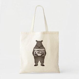 Tote Bag J'ai besoin d'une étreinte