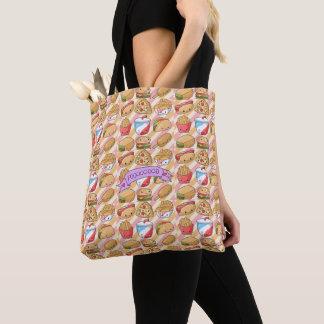 Tote Bag J'aime la nourriture