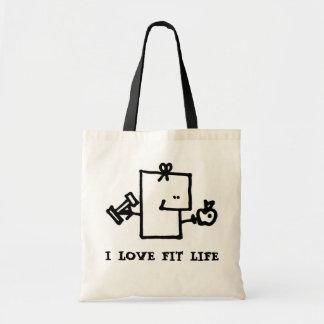 Tote Bag J'aime le budget convenable Fourre-tout de