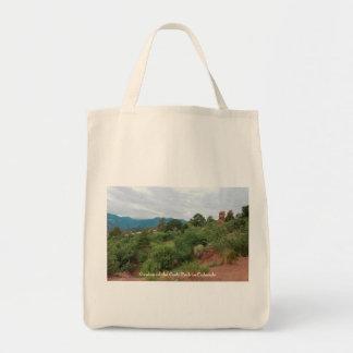Tote Bag Jardin des montagnes et des collines de dieux