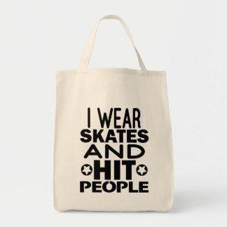 Tote Bag Je porte des raies et des personnes de coup,