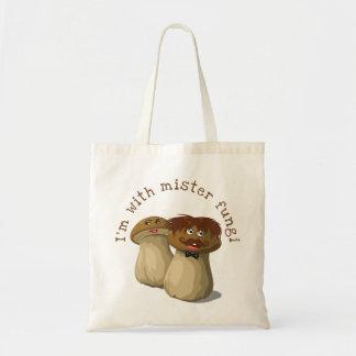 Tote Bag Je suis avec Monsieur Fungi