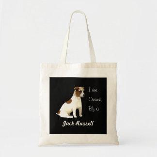 Tote Bag Je suis possédé par un Jack Russell