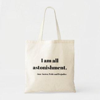 Tote Bag Je suis tout l'étonnement ! Fourre-tout