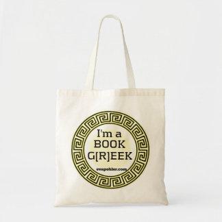 Tote Bag Je suis un GREC Fourre-tout de LIVRE